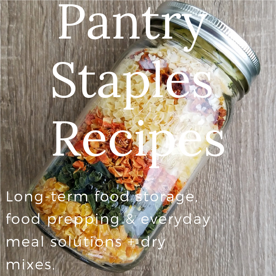 Pantry Staples Recipes