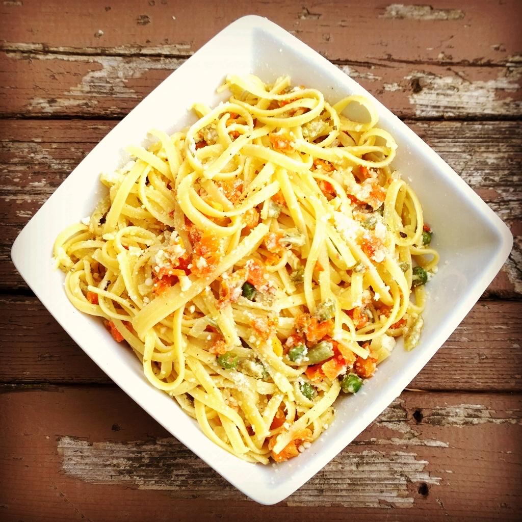 Trail Eats: Pasta Primavera
