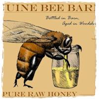 My sister's bees barf tasty honey.