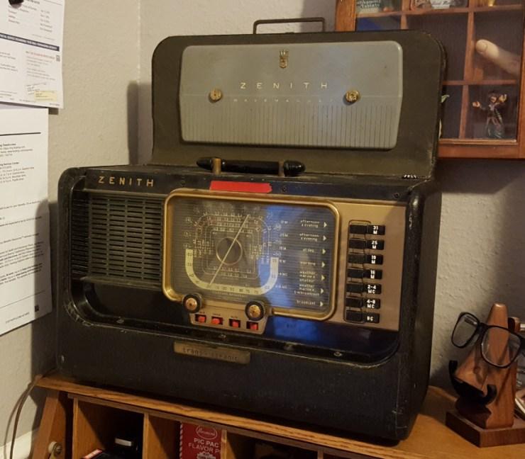 Zenith Trans-Oceanic radio still plays.