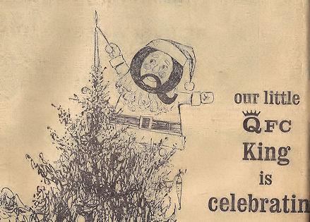 QFC King mascot had a weird mustache