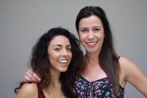 Grace Parra and Jennifer Bartels