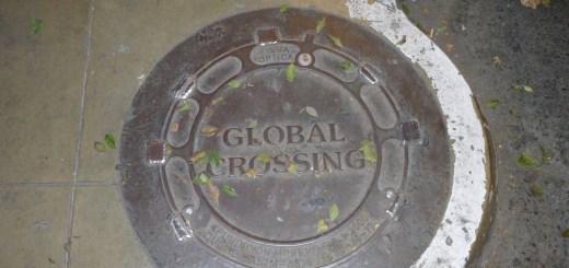 Global Crossing Sewer Lid