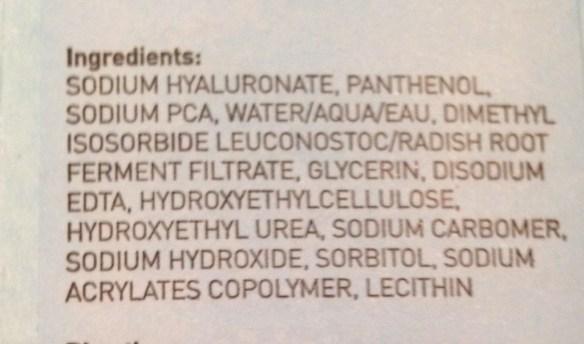 ingredients in MDSun Super Hydration B Serum neversaydiebeauty.com @redAllison