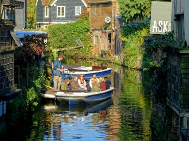 Boat Tour On The Great Stour