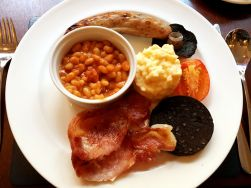 Full English Breakfast at ABode Hotel Canterbury