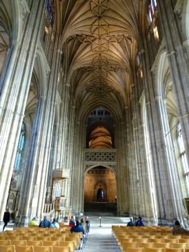 Nave, Cathedral of Canterbury