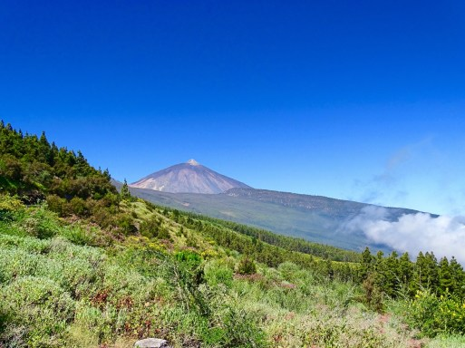 View of Teide from the TF21