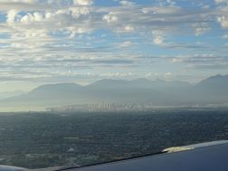 Flight to Vancouver