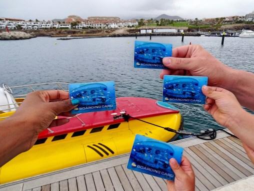 Boarding Cards