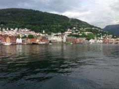 View of Bryggen