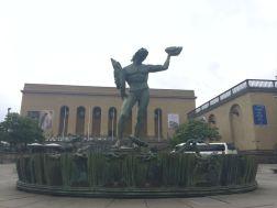 Poseiden Fountain Gothenburg