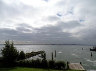 View from Pampus Paviljoen