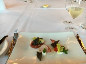 Starter - Lobster with Marinated Tuna Tartar