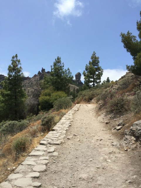 Climb Up Roque Nublo