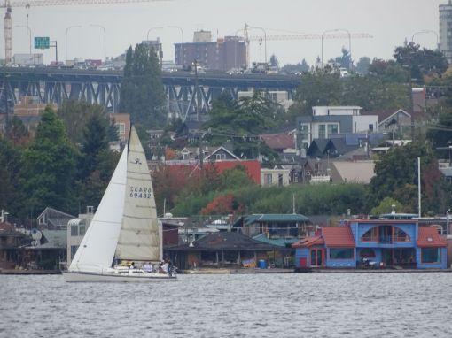 Houseboat Settlement Lake Union