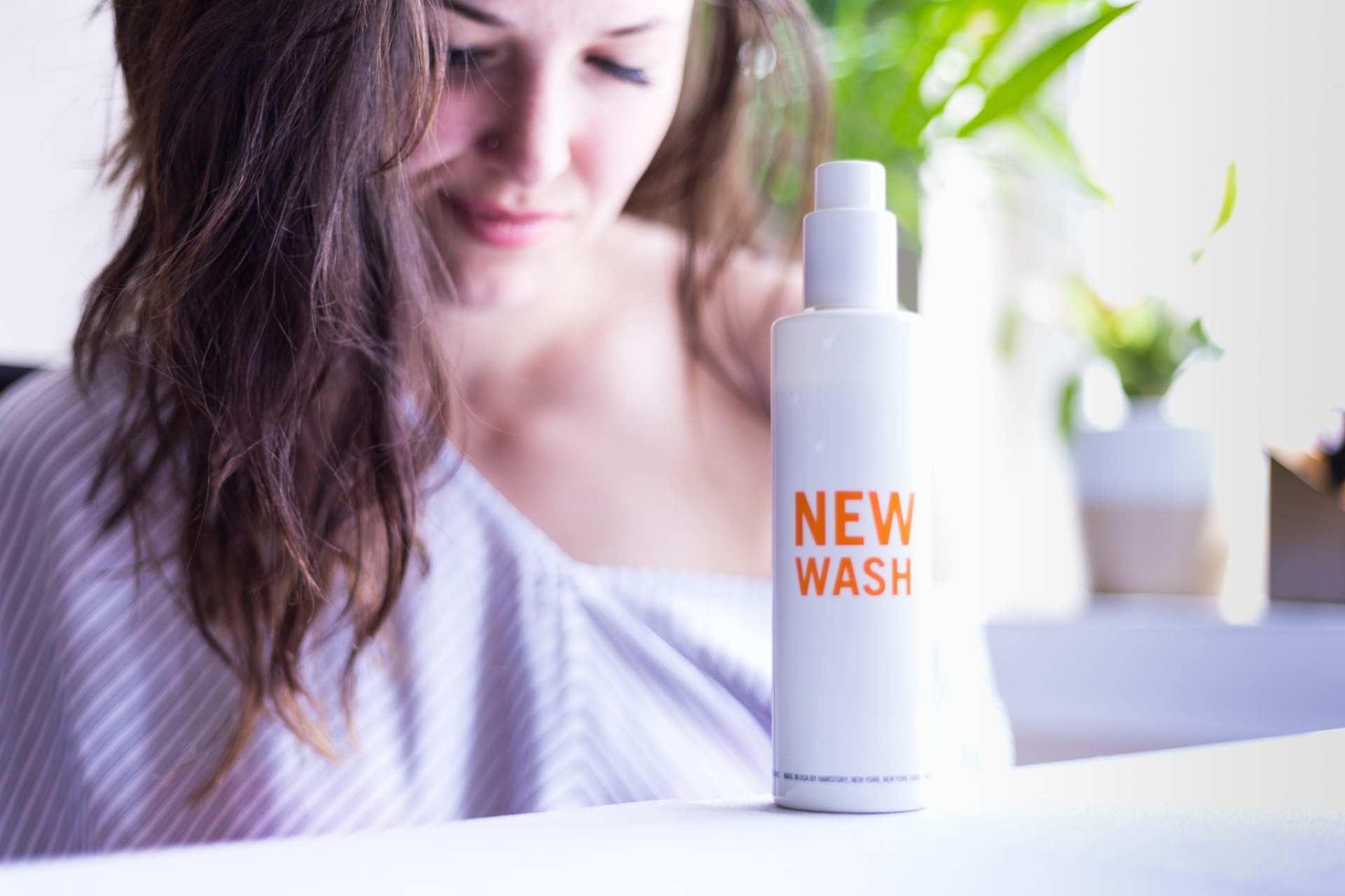 new wash   shampoo   all in one   sud free shampoo   nopoo   hair care   best shampoo   best hair products   oil based shampoo   all in one shampoo and conditioner   hair repair