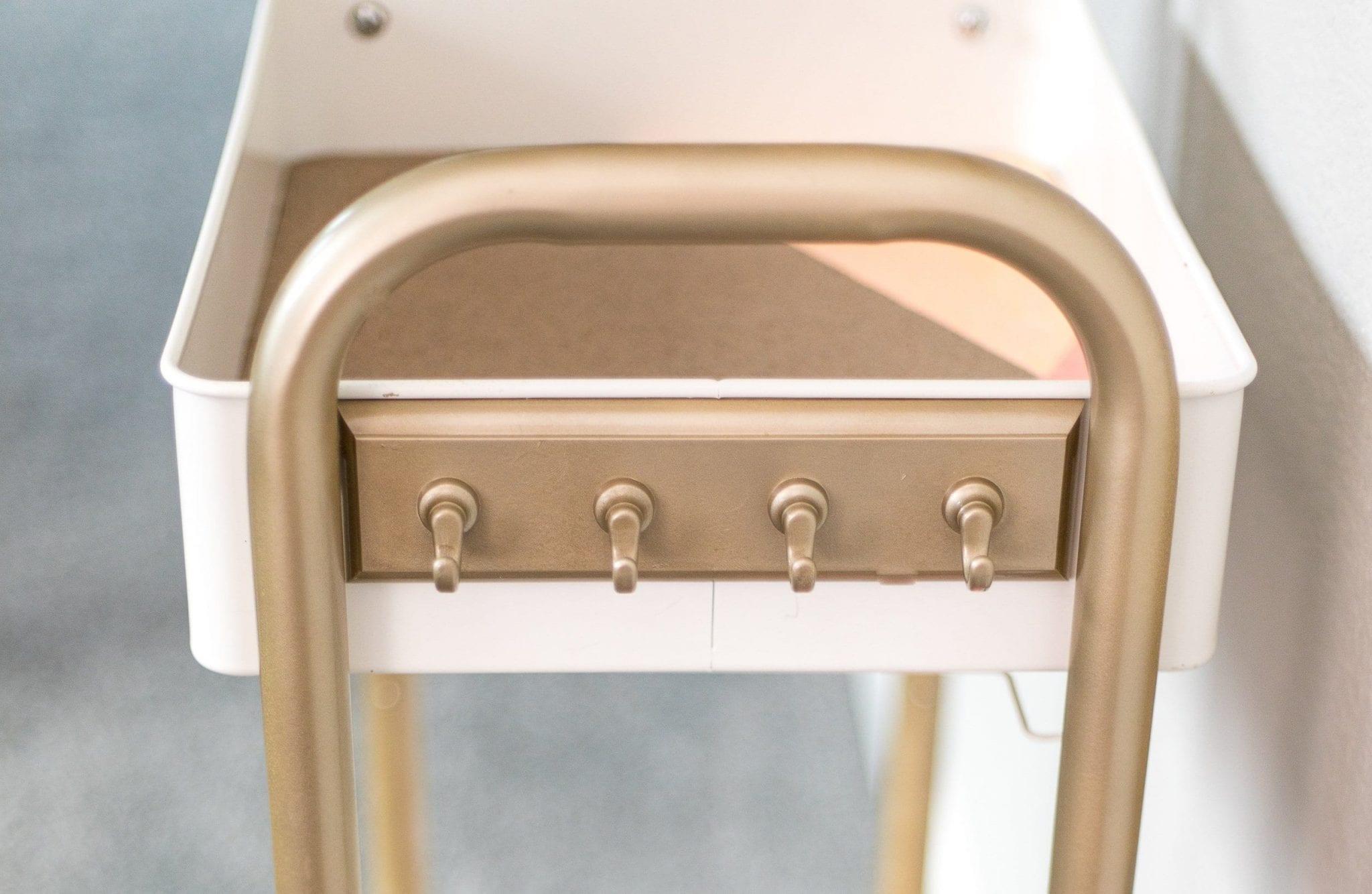 bar cart diy | bar cart diy metal | bar cart diy before and after | bar cart styling ideas | bar cart ideas | bar cart ideas DIY | Never Skip Brunch by Cara Newhart | #Brunch #DIY #barcart #neverskipbrunch