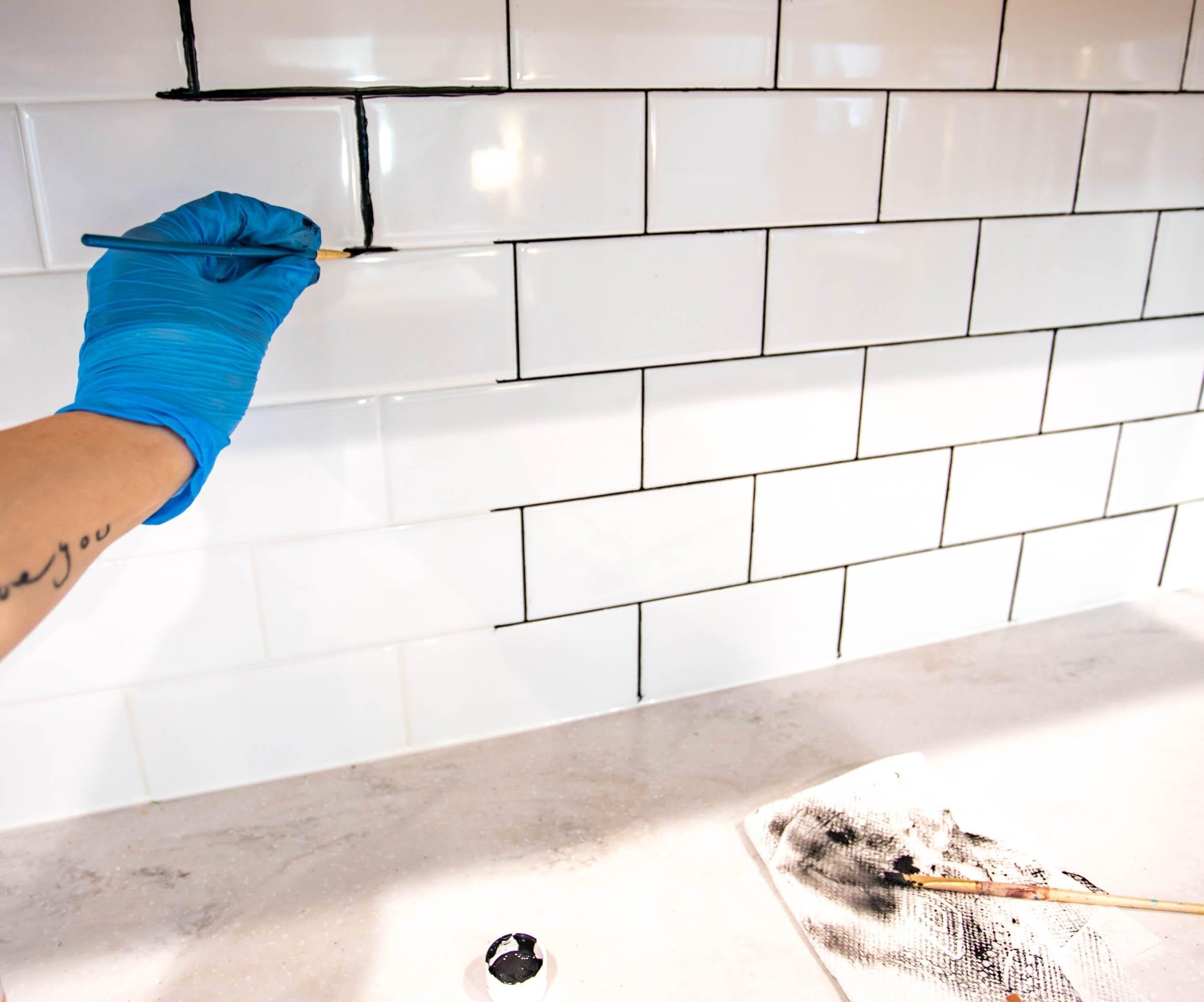 https www neverskipbrunch com backsplash tile refresh how to make white tile pop for under 20