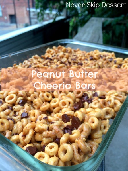 Peanut Butter Cheerio Treats