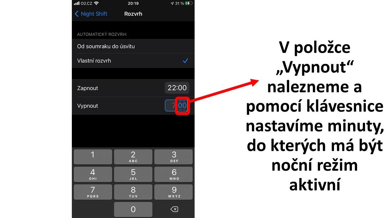 Aktivace nočního režimu pro iPhone - obrázek 11