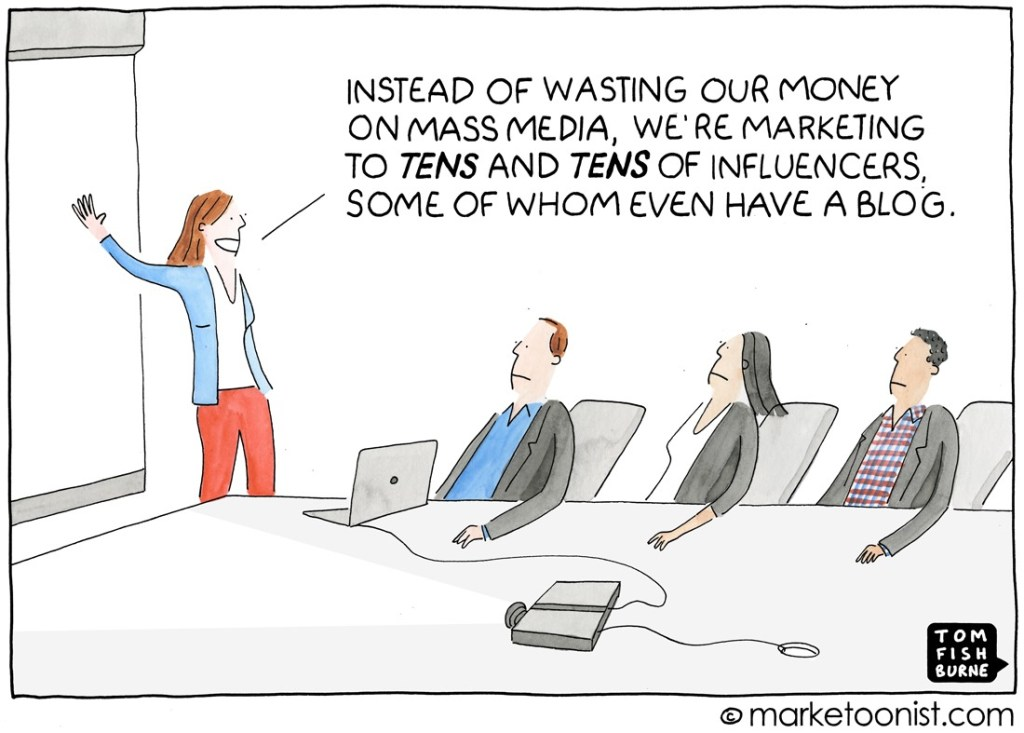 Small matters most in influencer marketing
