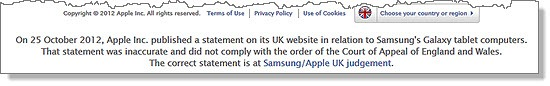 As it turns out, Apple isn't above the law (and which is a bit behind the times)
