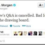 Beware lack of Plan B in a Twitter hashtag chat #AskJPM