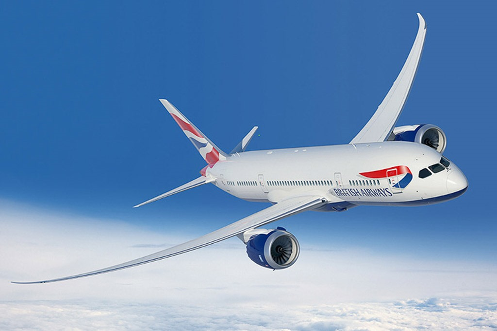 British Airways Dreamliner