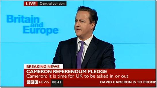 David Cameron EU speech