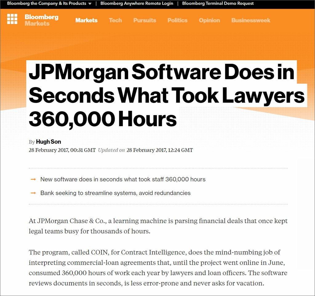 JP Morgan software