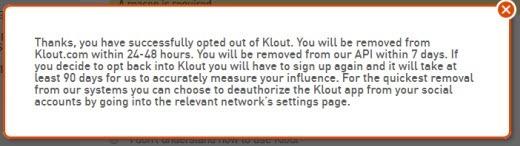kloutoptoutsuccess