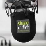Talking tech on live radio