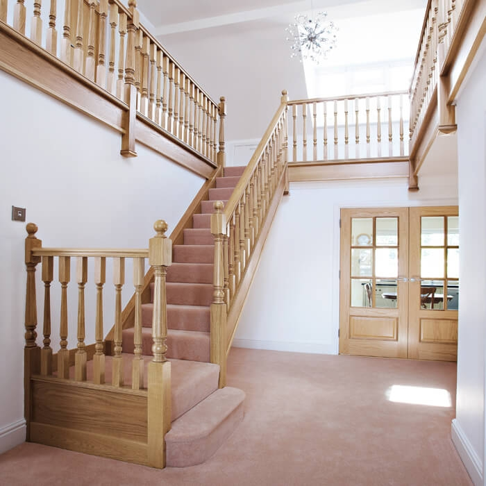 Staircase Renovations Stairs Banisters Neville Johnson | Traditional Staircase Designs For Homes | Antique | Nice | Low Cost | Entryway | Wonderful