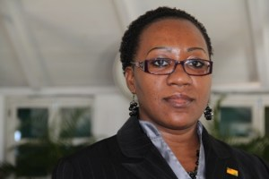 New Clerk of the Nevis Island Assembly Ms. Shemica Maloney