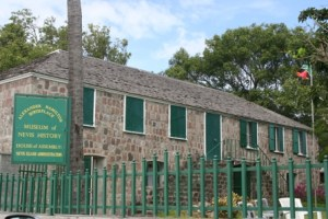 Hamilton House on Samuel Hunkins Drive in Charlestown, wherethe Nevis Island Assembly Chambers is situated