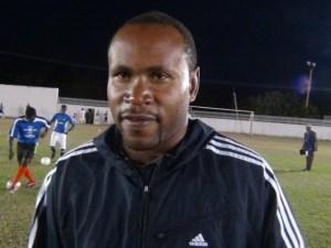Director of Sports on Nevis, Jamir Claxton