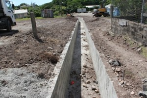 Another section of the Hamilton Road project at Lower Stoney Grove late 2012 (file photo)