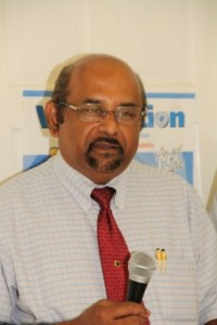 District Medical Officer Dr. Chandy Jacobs who is assigned to the Brown Hill Health Centre