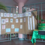 The contest display at Government Headquarters