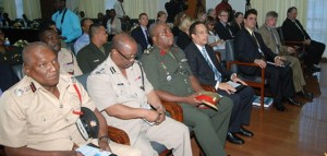Participants attending the CBSI in Guyana