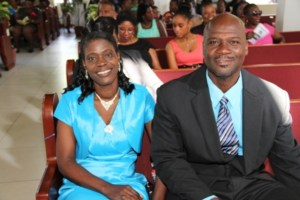 Patrons for the Gingerland Secondary Schools' 2013 Graduation Ceremony Mr. and Mrs. Samuel and Lornette Webbe
