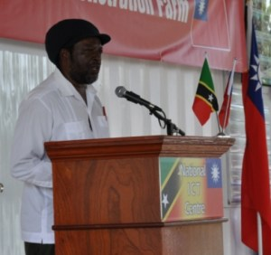 Permanent Secretary in the Ministry of Agriculture, Marine Resources and Cooperatives- Ashton Stanley