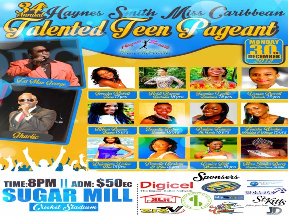 Haynes Smith Miss Caribbean Talented Teen Pageant 22