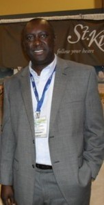 Chairman of the St. Kitts Tourism Authority, Mr. Alphonso O'Garro.