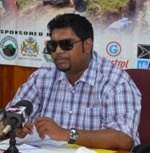 Minister of Tourism Irfaan Ali