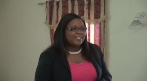 Coordinator of Youth Development in the Department of Youth and Sports Zahnela Claxton