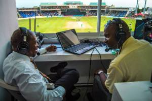 Prime Minister the Right Honourable Dr. Denzil Douglas shares about St. Kitts and Nevis at CPL match