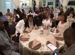 A section of the patrons at the Nevis Renal Society's Annual Gala Memorial Awards Dinner at Occasions on November 15, 2014
