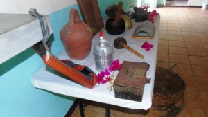 Artifacts on display at Butlers community Center